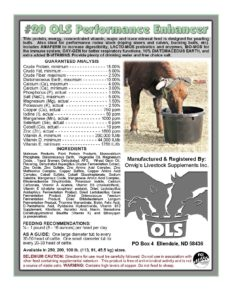 #20 OLS US Performance Enhancer Supplement